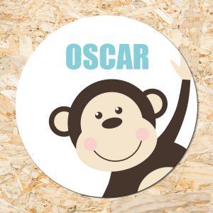 Sticker 50mm Aapje