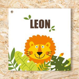 Label 40mm Leeuw