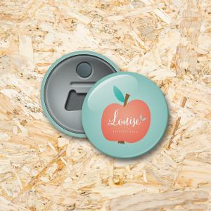 Appeltje Button flesopener 56 mm