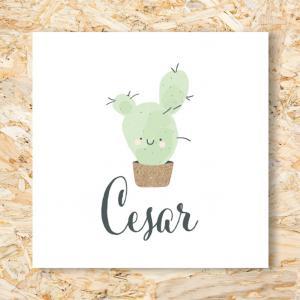 Sticker 40mm cactus