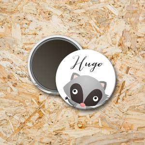 Magneet 37mm Wasbeer