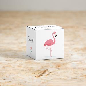 Kubusdoosje Flamingo
