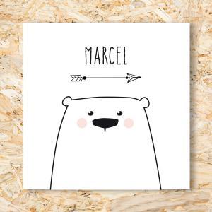 Sticker 40mm Knuffelberen