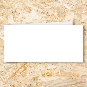 Blanco dubbel 210x99 mm (L)