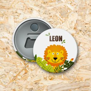 Leeuw Button flesopener 56 mm