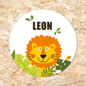 Sticker 40mm Leeuw