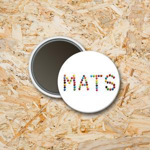 Magneet 37mm Snoepletters