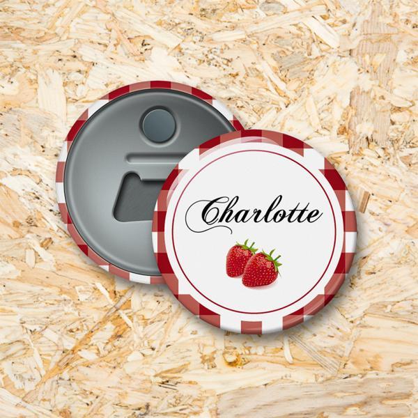Confituur Button flesopener 56 mm