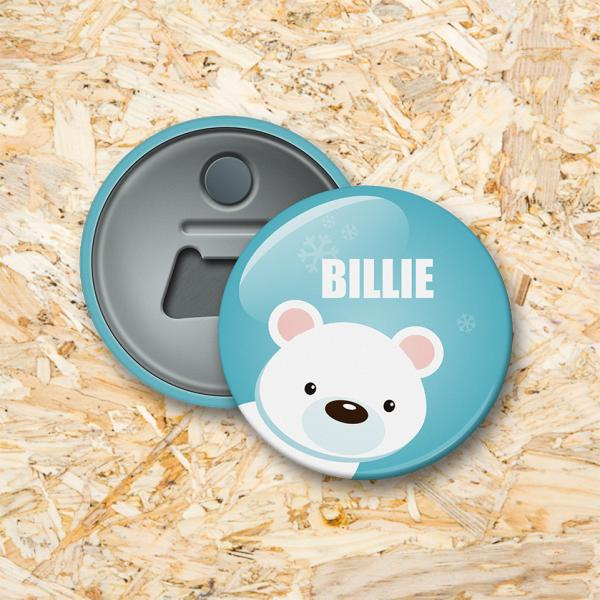 Poolexpeditie Button flesopener 56 mm