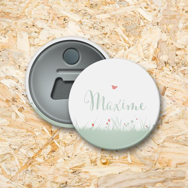 Silhouet Button flesopener 56 mm