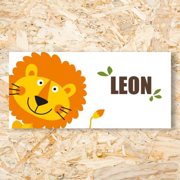 Leeuw geboortekaartje